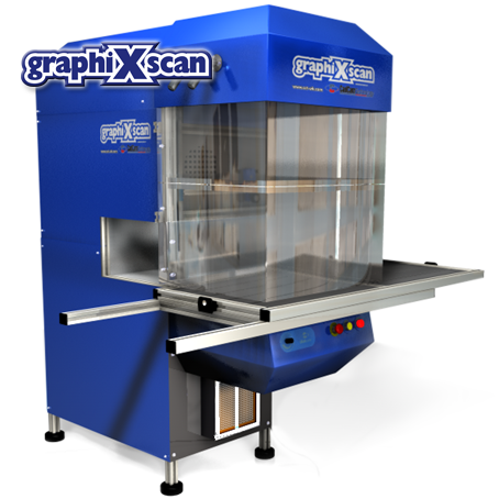 Laser cutting machine - Graphixscan500