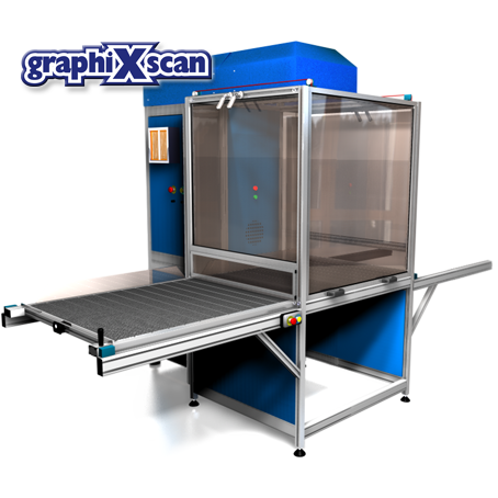 Laser cutting machine - Graphixscan800